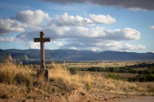 Blick von La Cuesta in die Hochebene